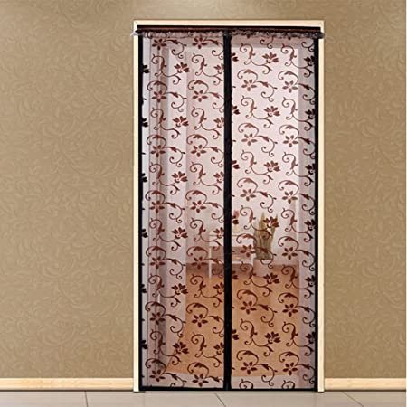 J&DSSSU Cortinas de Malla para Balcon Cortina magnética con Resistente Red de Puerta para Puertas correderas,Anti Mosquito Super silencioso-A 80x200cm(31x79inch): Amazon.es: Hogar