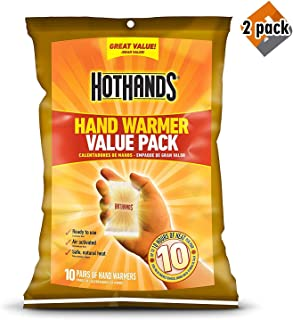 product image for HotHands Hand Warmers - Long Lasting Safe Natural Odorless Air Activated Warmers - Up to 10 Hours of Heat - 2 Pack of 10 Pair Value Pack