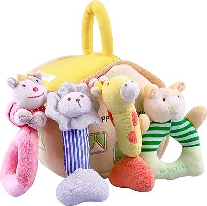Giraffe Soft Plush Toy Animal Dolls For Child Baby Kids Birthday Party Gift 2017