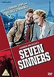 Seven Sinners [DVD] [1936]