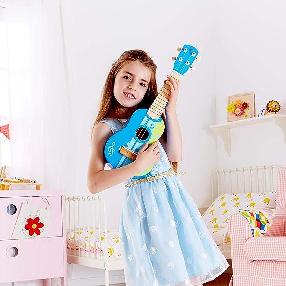 Jungen Kleinkinder Spieluhr Akustische Saiteninstrument Mit Pick Und Ersatz String Ceepko 20.86 Mini Musikinstrument Kindergitarre Basswood F/ür Ausbildung M/ädchen Anf/änger