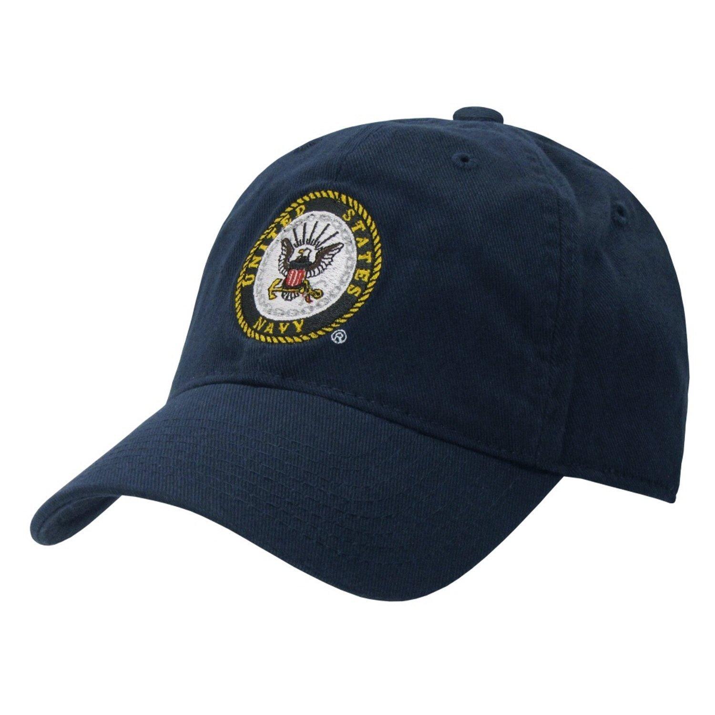 Amazon.com  UNITED STATES US NAVY POLO STYLE NAVY BLUE BASEBALL CAP CAPS HAT  HATS  Clothing a41c8c4b0b5