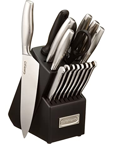 6f6287f7947 Cuisinart C77SS-17P 17-Piece Artiste Collection Cutlery Knife Block Set