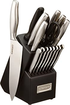 Cuisinart 17-Piece Artiste Cutlery Knife Block Set
