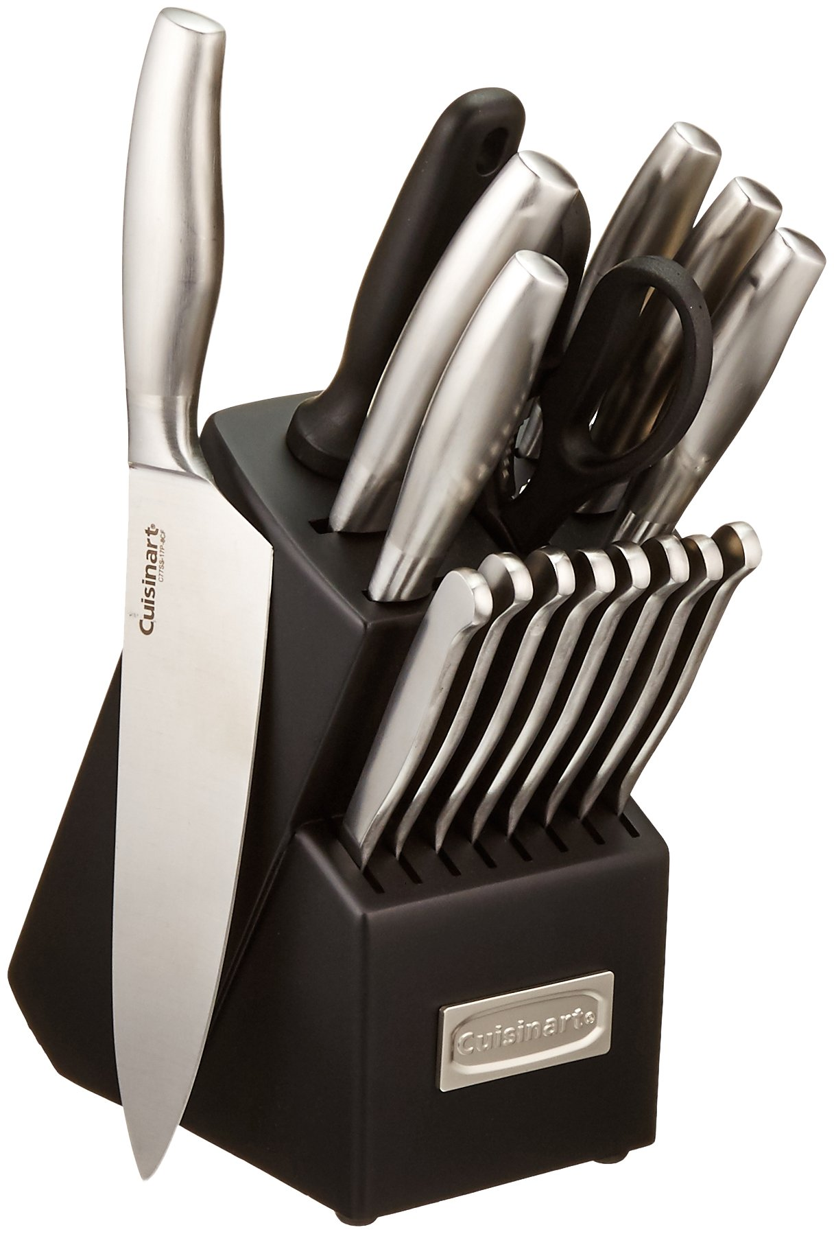 Cuisinart C77SS-17P 17-Piece Artiste Collection Cutlery Knife Block Set, Stainless Steel by Cuisinart