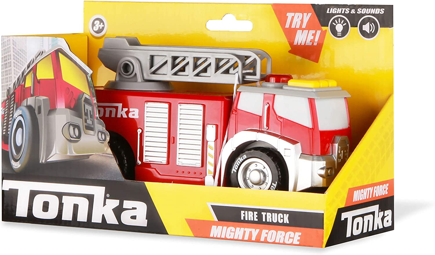 Toy 257 With Lights and Sounds Details about  /Tonka Fire Truck