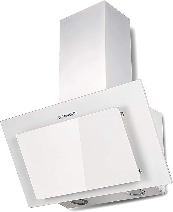 respekta CH33060WB+MIZ0060 - Campana extractora (60 cm, sin cabezal, filtro de carbón activo), color blanco: Amazon.es: Grandes electrodomésticos