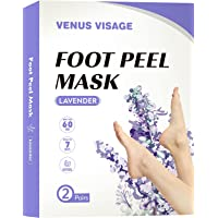 Foot Peel Mask 2 Pack, Peeling Away Calluses and Dead Skin cells, Make Your Feet Baby Soft, Exfoliating Foot Mask…