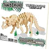 Professor Puzzle - UK Dinosaur Construction Kit Triceratops Jigsaw Puzzle