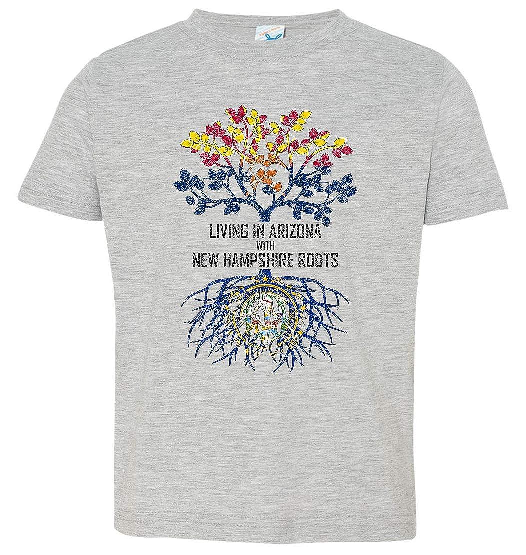 Tenacitee Babys Living in Arizona Hampshire Roots Shirt