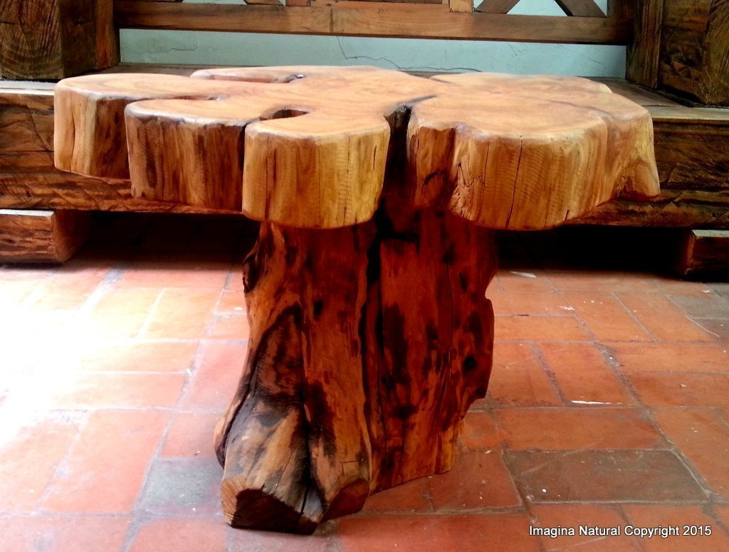 Amazoncom Naturally Unique Cypress Tree Trunk Handmade Coffee - Cypress stump coffee table