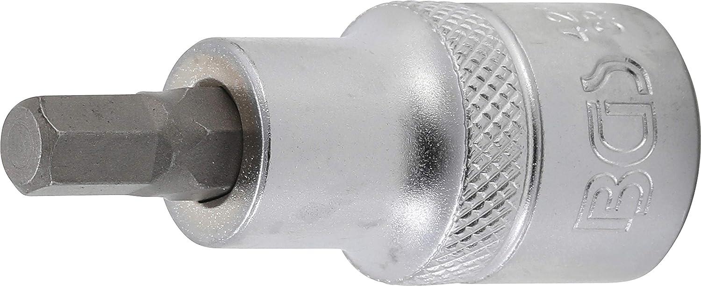 12,5 mm 1//2 BGS 5184-H24 Douille /à embouts | six pans int/érieurs 24 mm