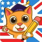 Fun English: Apprenez l'anglais - Jeux d'apprentissage de langue pour les enfants de 3 à 10 ans, pour apprendre à lire, parler et épeler