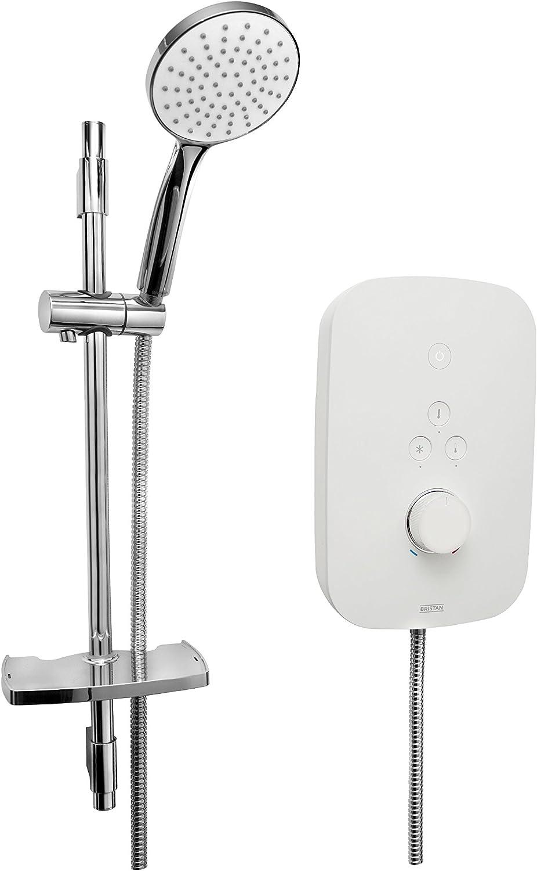 Bristan SOL85 W Solis Electric Shower, White
