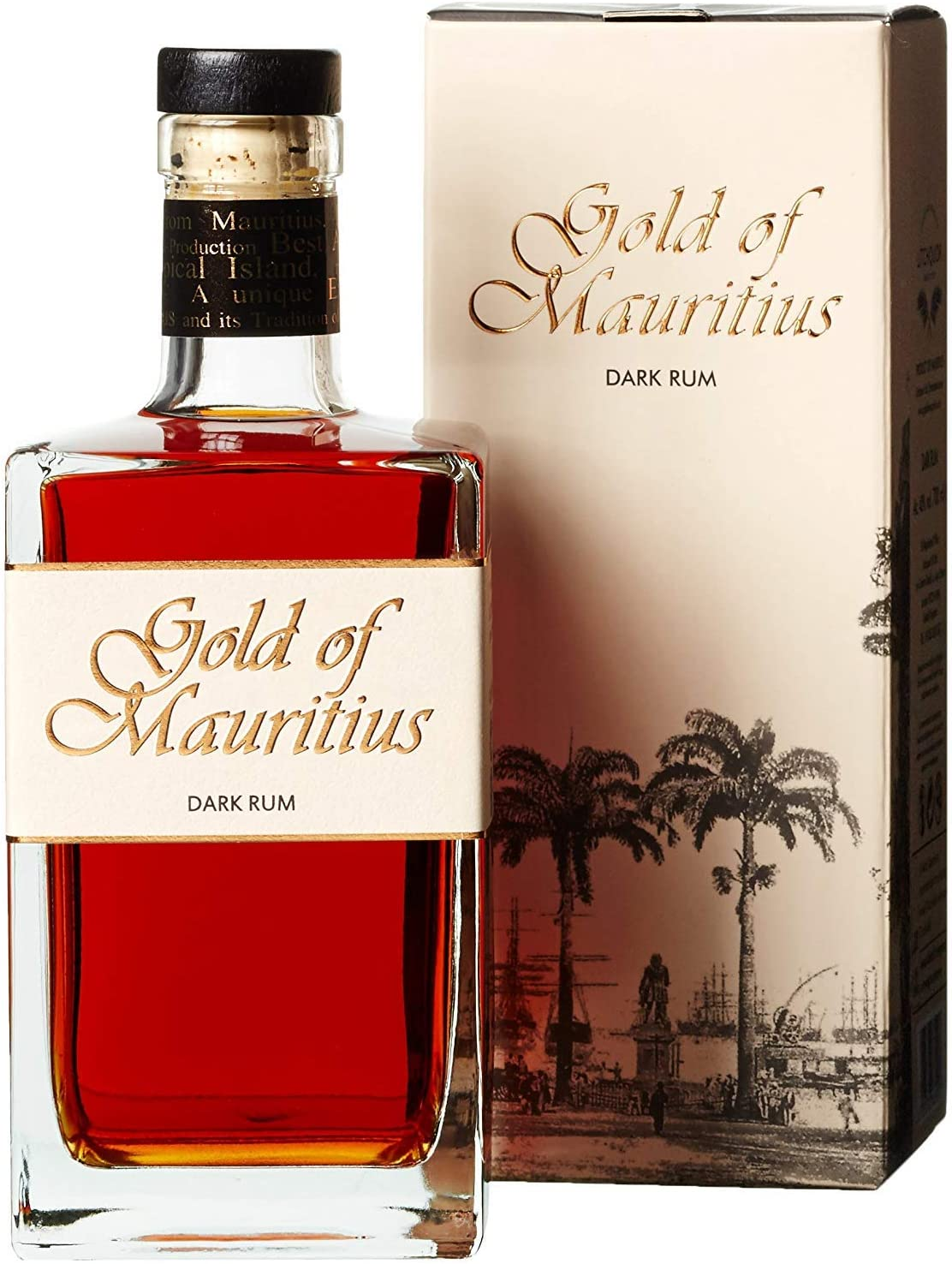 Gold of Mauritius Dark Rum - 1 x 0.7 l