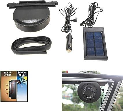 Ventilador solar para automóviles, Ventilador solar para ...