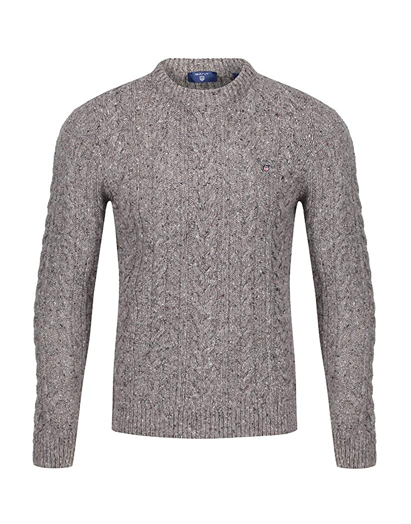 TALLA XXL. Gant Donegal Cable Equipo Mens suéter