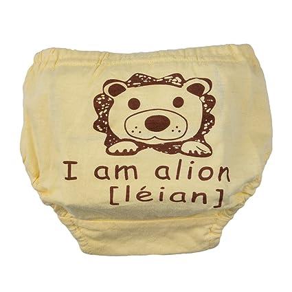 luerme bebé recién nacido algodón lavable y reutilizable Pañal ...