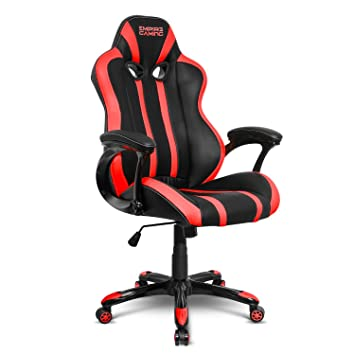 Empire Gaming Chaise Gamer Racing 600 Series Rouge Et Noir