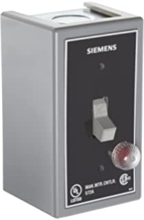 Toggle Operator Type Siemens MMSK01 Fractional HP Switch Open Type Single and 3 Phase Standard Switch Feature