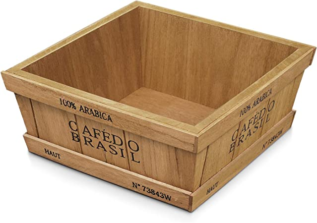 Flexzion - Cajas de Madera rústicas Vintage Decorativas con ...