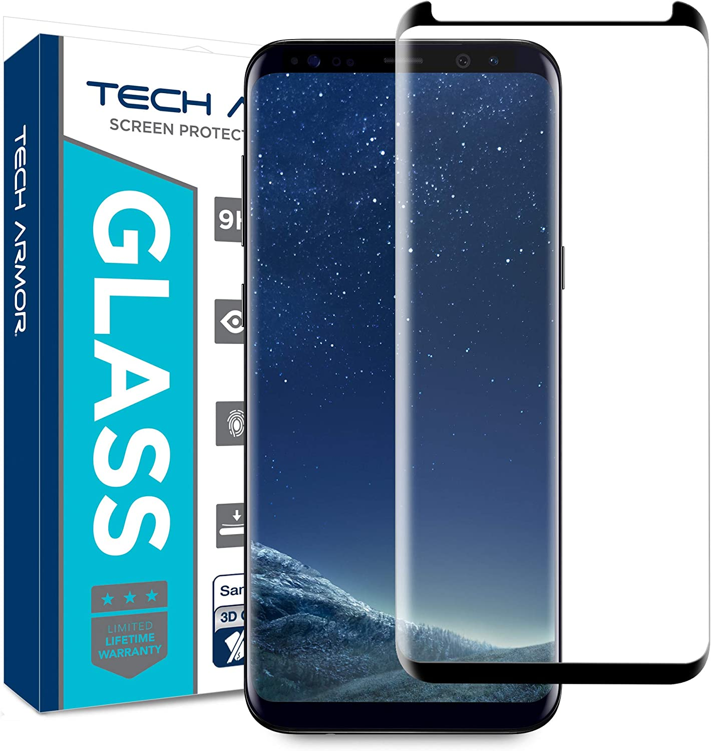 Case Friendly 3 Pack Conber Premium Tempered Glass Screen Protector for Samsung Galaxy S4 Scratch-Resistant Screen Protector for Samsung Galaxy S4, Anti-Shatter
