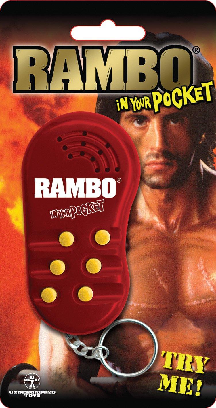 Emanation In Your Pocket Talking Keychain - Rambo Emanation