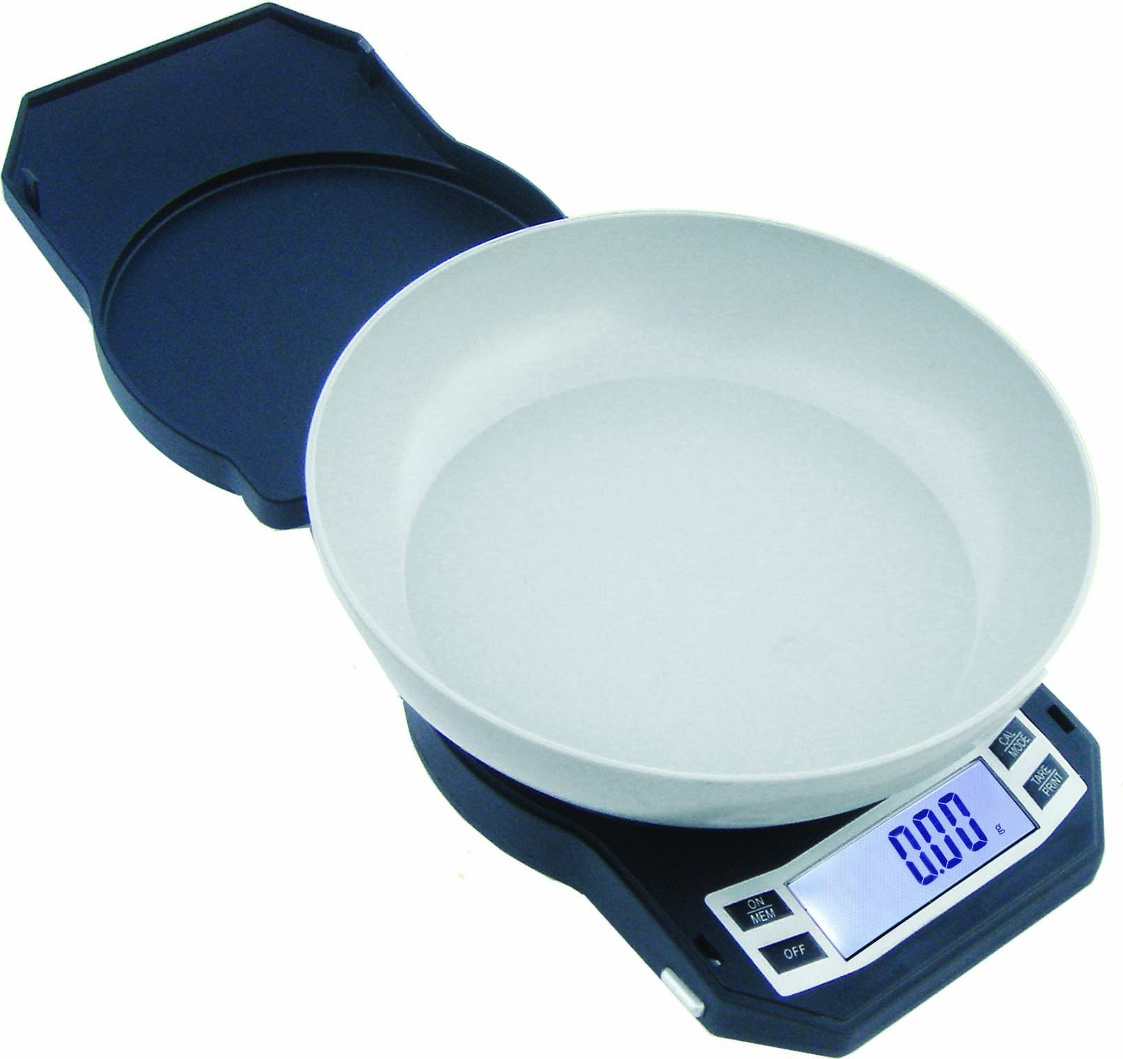 American Weigh Scales LB Series Precision Digital Kitchen Weight Scale, Gray 500 x 0.01G (LB-501) by AMERICAN WEIGH SCALES