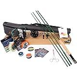 Maximumcatch Maxcatch Premier Fliegenfischen Rute und Rolle Combo komplete 9' Fliegenfischen Outfit Ausrüstung