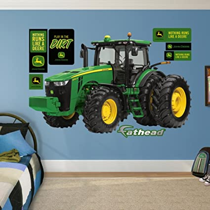 John Deere 8360R Tractor Real Big Fathead Wall Decals 66W x 41H