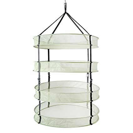 Cannabis Drying Rack Fascinating Amazon IPower 60ft 60Layer Clip On Hanging Herb Dry Net With
