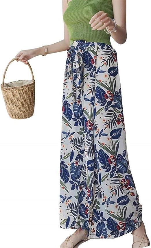 Falda Pantalon Mujer Verano Elegantes Strappy Cintura Alta ...