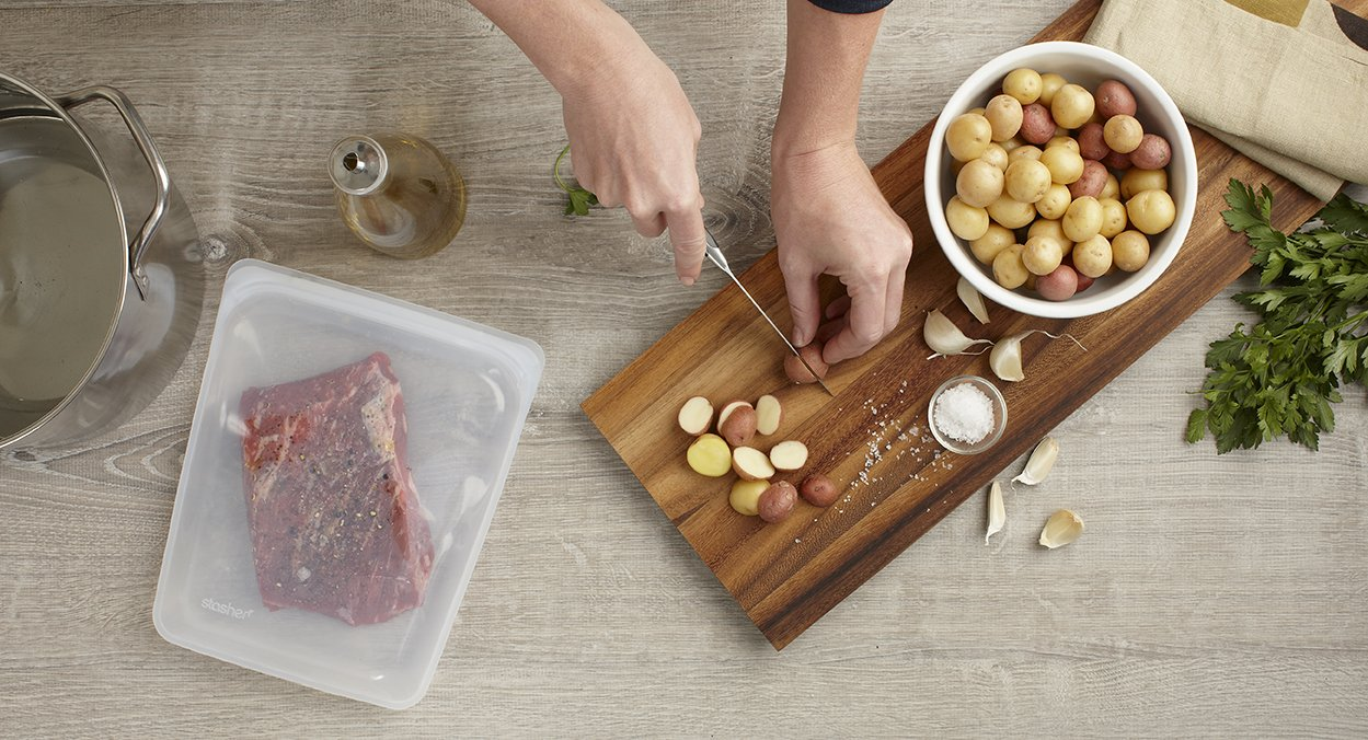 94e187e96f3e7 Details about Stasher Reusable Silicone Food Bag, Sandwich Bag, Sous vide  Bag, Storage Bag,