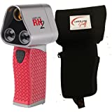 Laser Link Red Hot 2 Golf Rangefinder Bundle with Free PlayBetter Protective Carrying Pouch | RH2 Laser Rangefinder