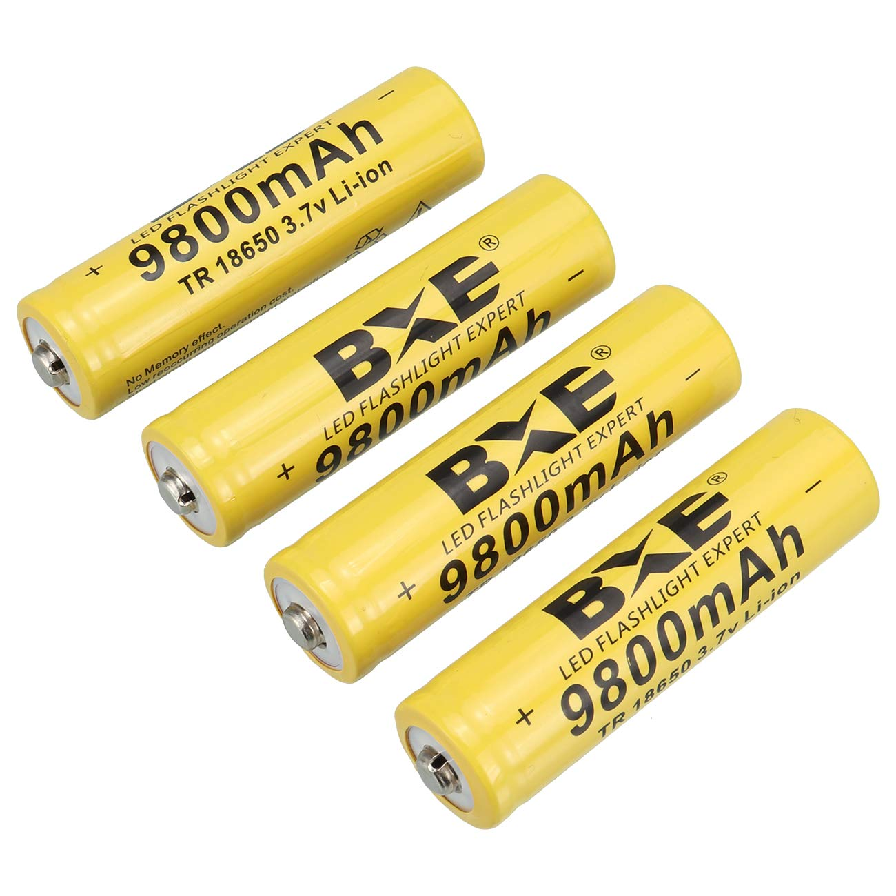 Household Appliance BXE Lightbole 8PCS Li-ion Rechargeable 18650 Batteries 3.7V 5800AMH for Led Flashlight Toys