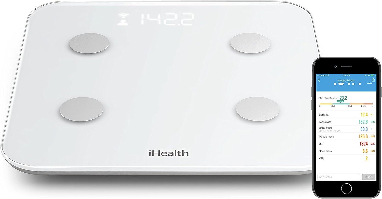 iHealth CORE HS6 Balance d'analyse corporelle connectée – Impédancemètre