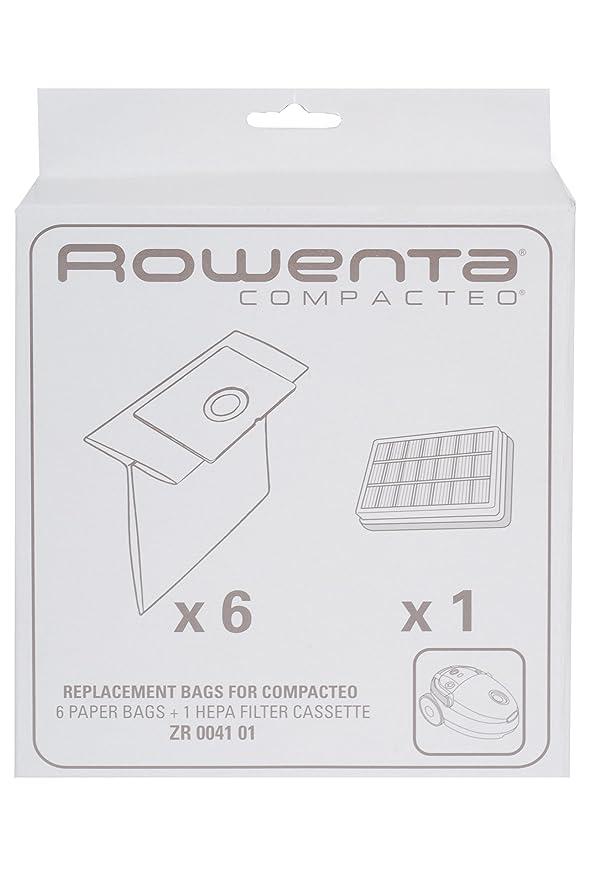 Amazon.com: Tefal Moulinex Rowenta HEPA - Bolsa de papel y ...
