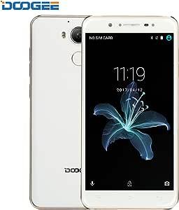 DOOGEE F7 Teléfonos Móviles Libres, 4G Smartphone Libre (Android 6.0, Helio X20, Deca-Core, 2.5Ghz, 3GB RAM, 32 GB ROM, 13MP Cámara, Huella Dactilar, Batería de 3400 mAh): Amazon.es: Electrónica