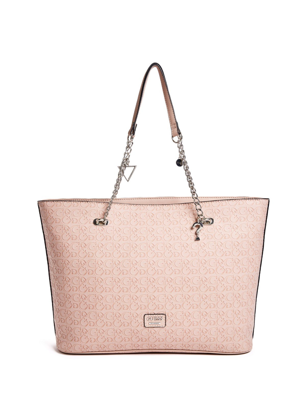 GUESS Factory Women's Larson Embossed Logo Top Chain Handle Tote