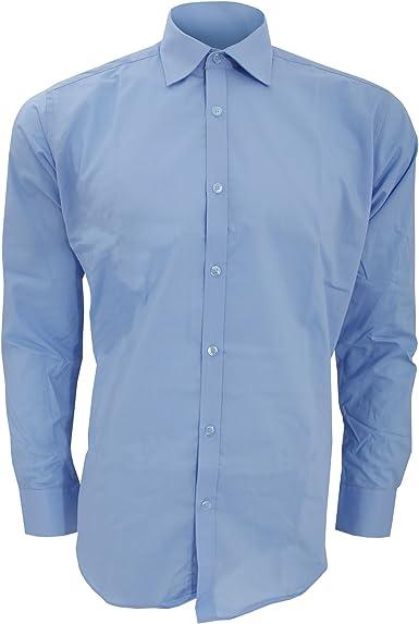 KUSTOM KIT - Camisa Entallada de Manga Corta Modelo Business ...