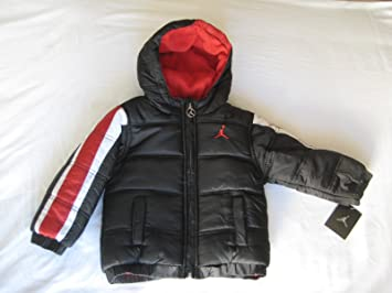 ac0c34f46a37 Image Unavailable. Image not available for. Color  Nike Jordan Infants Boys  Puffer Jacket ...
