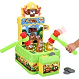 Crazy Whack A Mole Kids Toys Baby Games Counting Score Mouse Trap Toddler Boys Toys for Age 2 3 4 5 6 Year Old Boys…