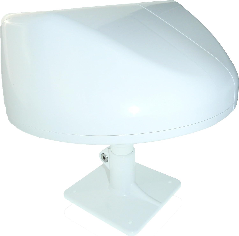 Antena TDT exterior para recepción de DVB-T/DVB-T2, filtro 4 G LTE, revestimiento anti-UV, hermética, direccional Passive alto Gain potente