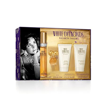 Elizabeth Taylor White Diamonds EDT 50ml Gift Set