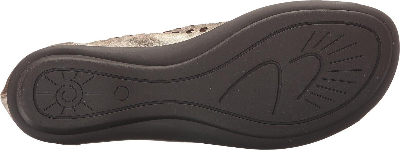 Sesto Meucci Women's Eily Flat Sandal B01I6JM1HQ 8 W US|Platino Haze/Mtch Elastic
