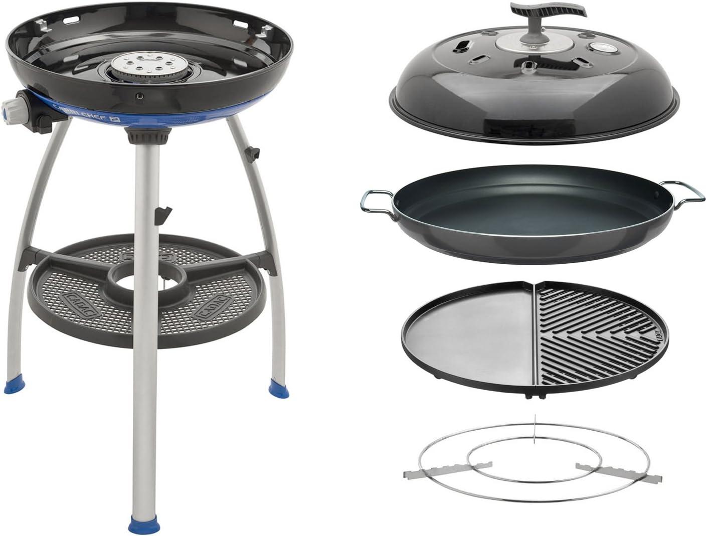 NEU Paellapfanne Camping Gasgrill Grill CADAC Carri Chef Skottel Pfanne