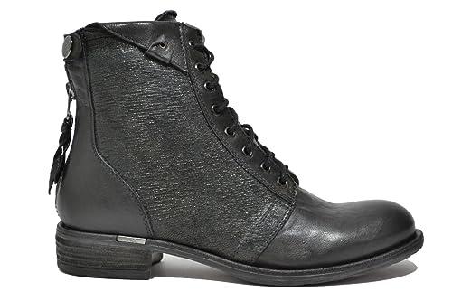 NERO GIARDINI Anfibi tronchetti nero 6111 scarpe donna mod. A616111D