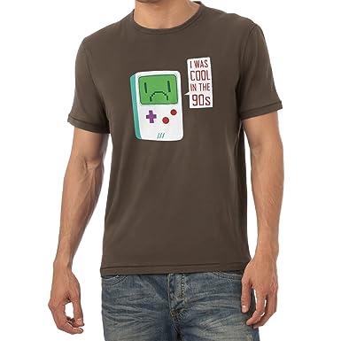 NERDO - I was cool in the 90s - Herren T-Shirt, Größe S