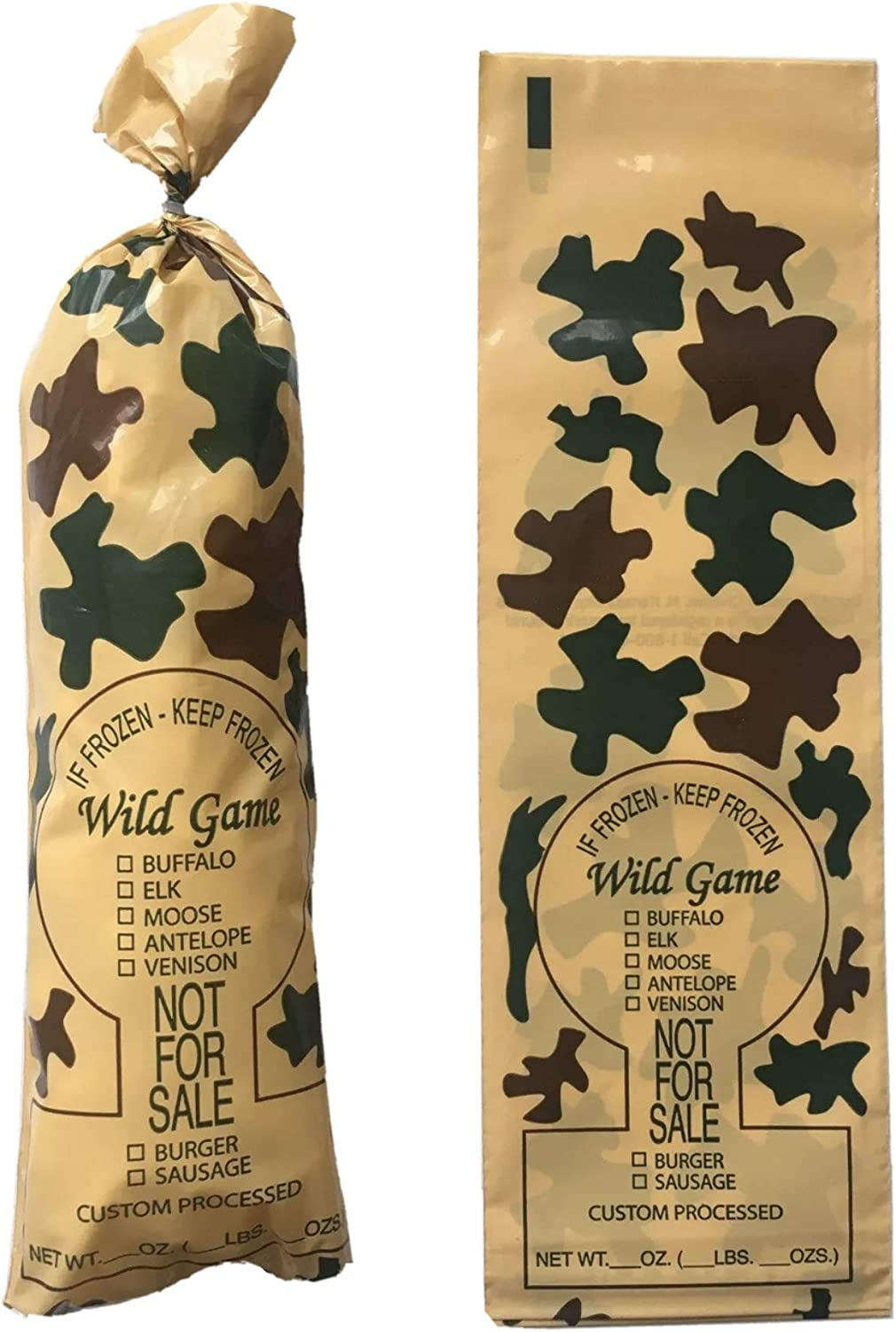 "Wild Game Freezer Bags, 2 lb.""Not for Sale"" (200)"