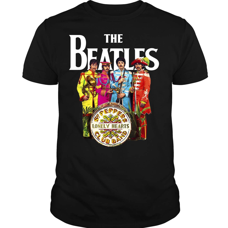 The Beatles Members British Band Shirts
